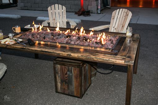 Custom Made Seated Firetable