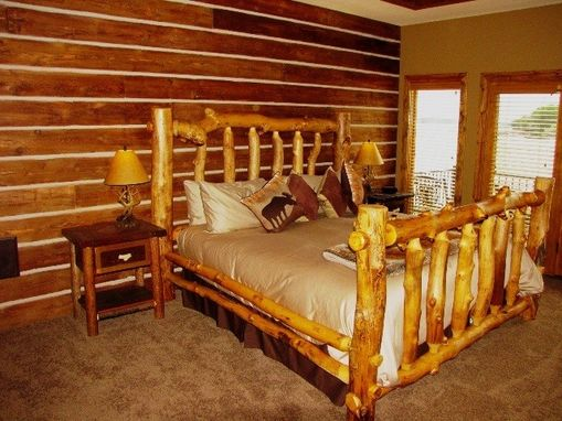 Custom Made Bettle Kill Wood Beds And Bedroom Sets