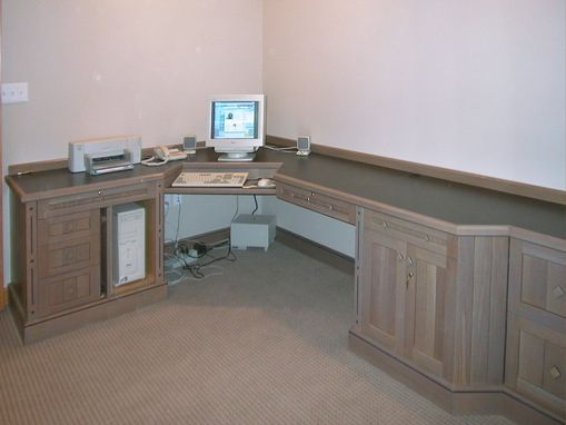 Custom Made Arts & Crafts Home Office