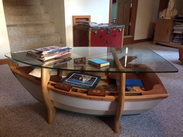 Buy A Hand Crafted Nautical Coffee Table Made To Order