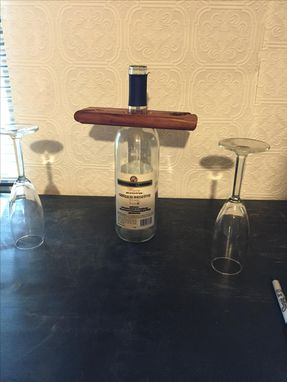 Custom Made 2 Glass Wine Holder