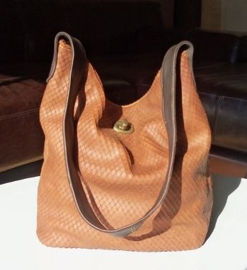 Custom Made Leather Shoulder Bag
