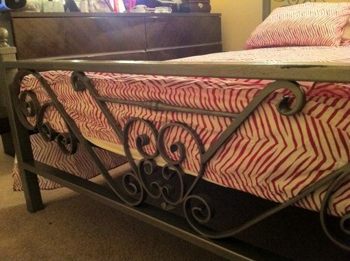 Custom Made Full Size Bed Frame Headboard & Footboard