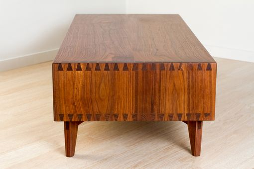 Custom Made Dovetailed Walnut Coffee Table