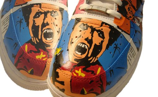 Custom Made Scarface Tony Montana Air Force 1/ Custom Air Force 1/ Hand Painted Air Force 1