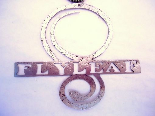 Custom Made Flyleaf Band Logo Necklace