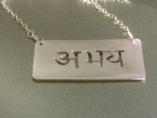 Custom Made Abhaya Necklace