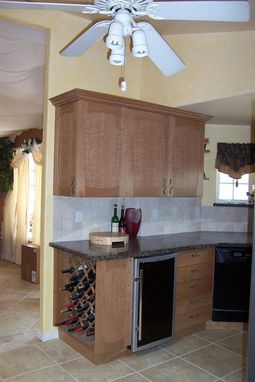 Custom Made Figured Cherry Kitchen