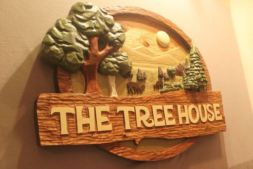 Custom Made Cabin Signs, House Signs, Tree House Signs, By Lazy River Studio
