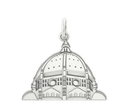 Custom Made Sterling Silver Duomo Charm