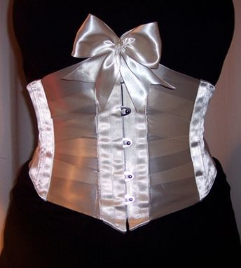 Custom Made Ribbon Corset