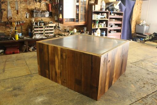 Custom Made Square Reclaimed Coffee Table