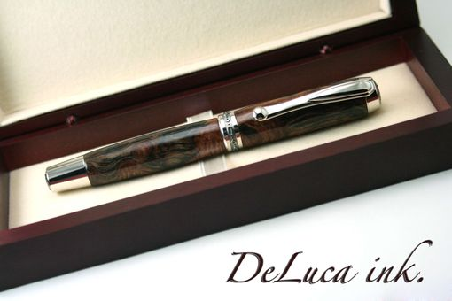 Custom Made Redwood Lace Burl Fountain Pen