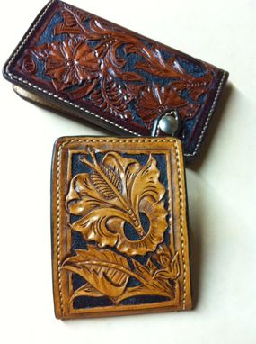 Custom Made Mens And Womens Leather Wallet