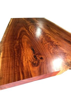 Custom Made Unique Live Edge Dining Table