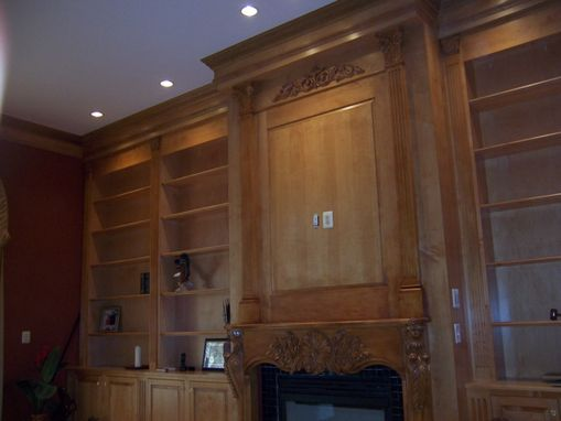Custom Made Maple Home Library