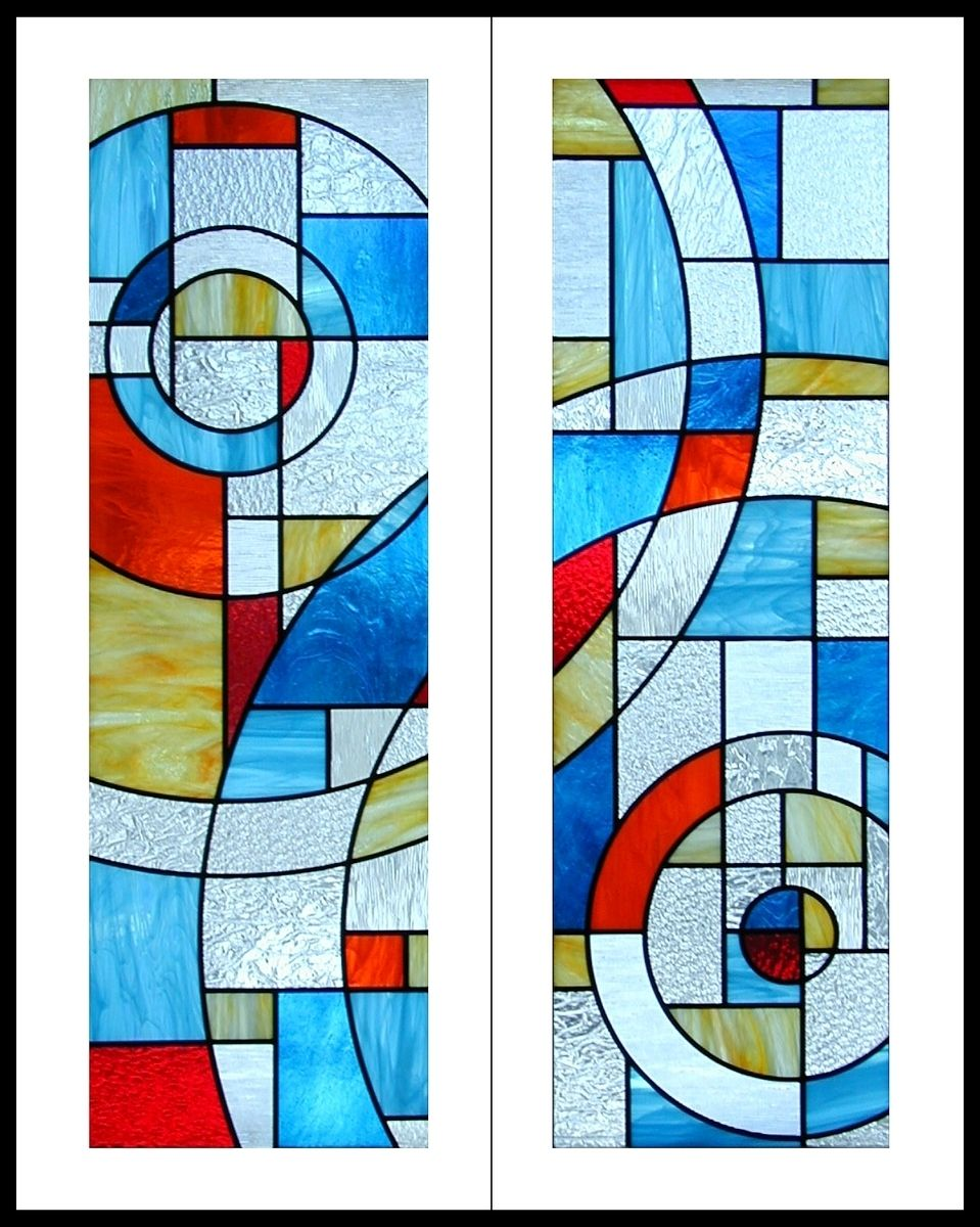 Handmade Stained Glass Cabinet Door Inserts By Transparent Dreams