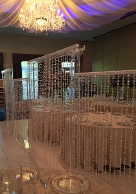 Custom Made Acrylic Crystal Wall - Room Divider - Made To Your Size