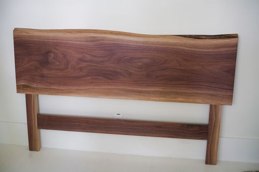 Custom Made Solid Walnut Headboard