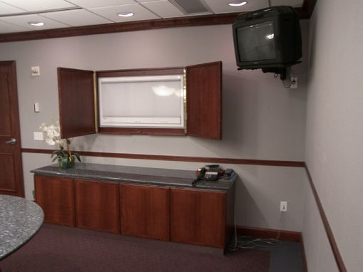 Custom Made Reception Desk,Library And Conference Room