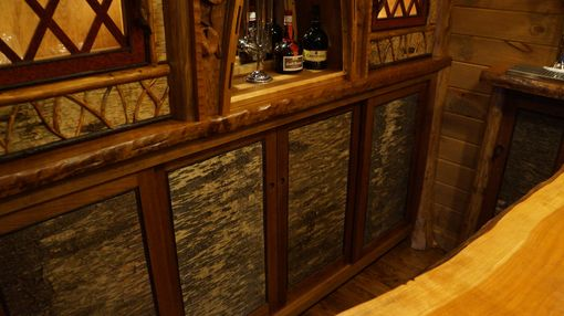 Custom Made Adirondack Rustic Home Bar