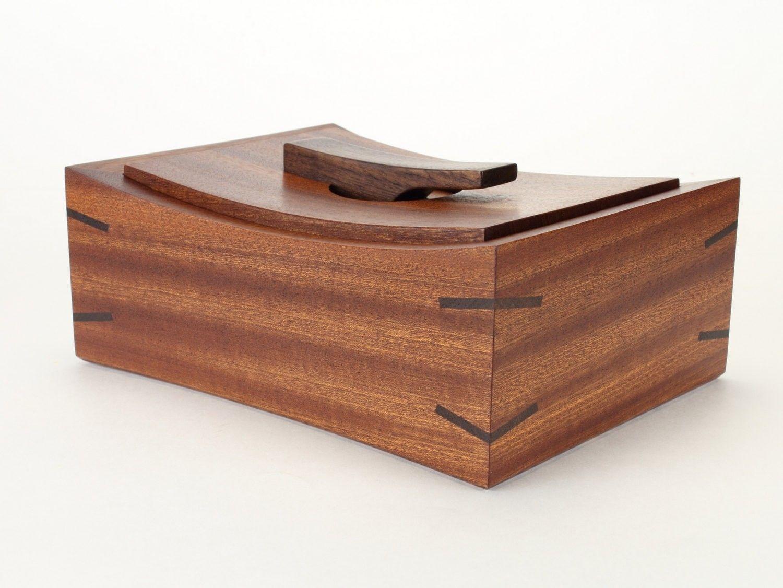 Custom Fine Wooden Keepsake Box by Brian Tyirin Woodworking ...