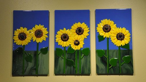 Custom Made Sunflower Panels