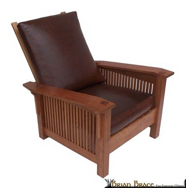 Custom Made Cherry Morris Chair