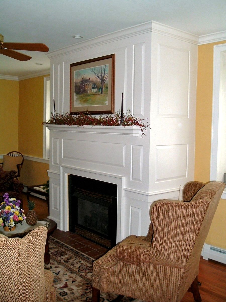 Custom Raised Panel Fireplace Surround By D C Nauman
