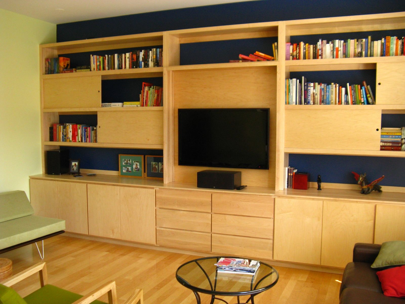 Hand Crafted Built In Wall Unit by Ivy Lane Fine Furniture