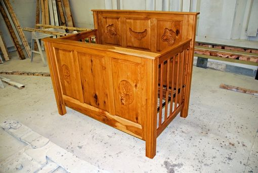 Custom Made Hickory Crib