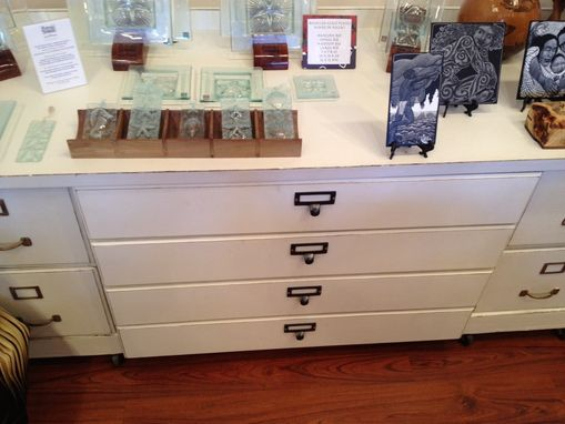 Custom Made Flat File Desk