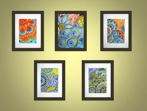 Custom Made Any 5 8x10 Prints- Ink And Acrylic Prints
