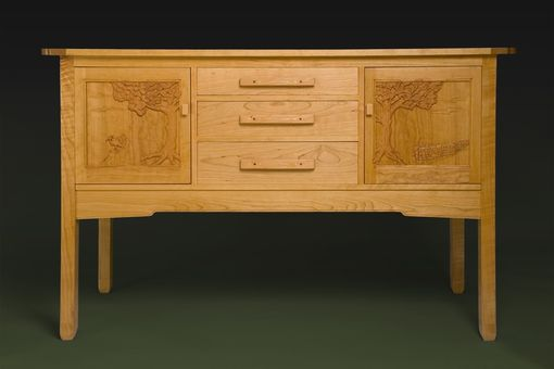 Custom Made Greene And Greene Sideboard