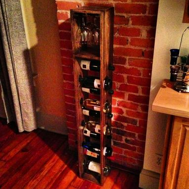 Custom Made Standing Wine Rack