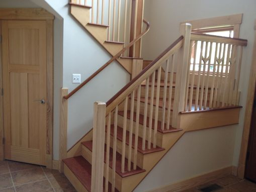 Custom Made Staircase And Handrail