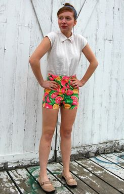Custom Made Petite High Waisted Shorts