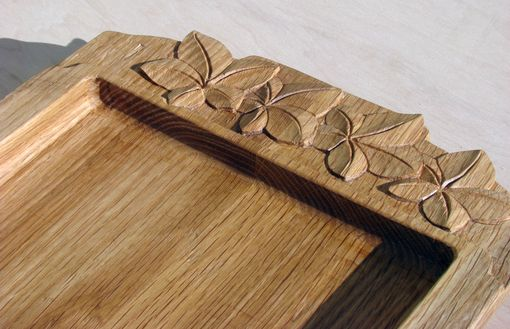 Custom Made Carved Ivy Platter