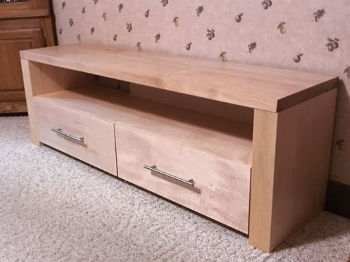 Custom Made Maple Media Unit