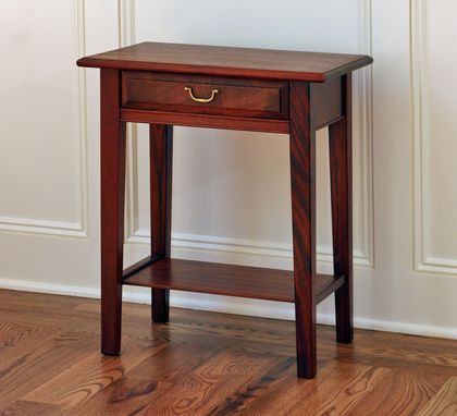 Custom Made End Table ~ Bedside Table