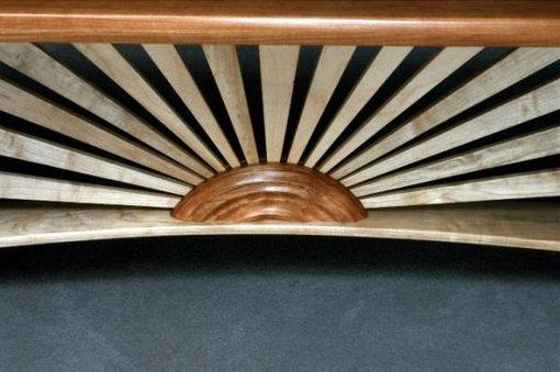 Custom Made Sunburst Bench