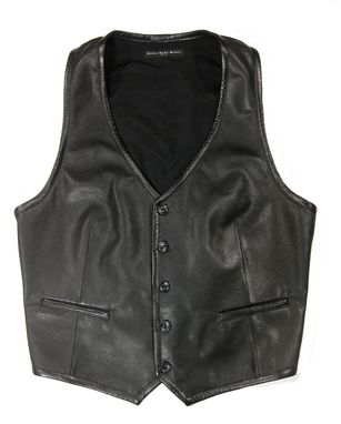 Custom Made Classic Custom Made Men's Leather Vests