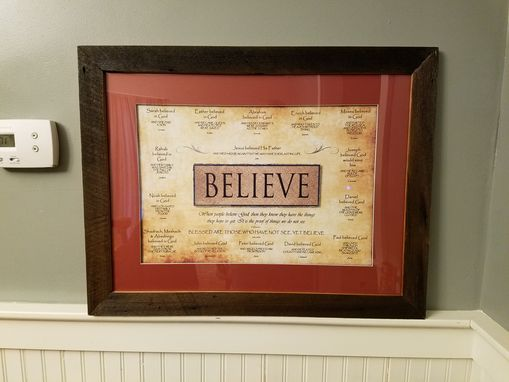 "Custom Made ""Believe"" Sign (No Longer Available)"