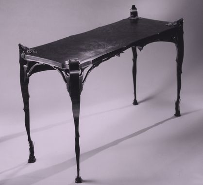Custom Made Black Hall Table