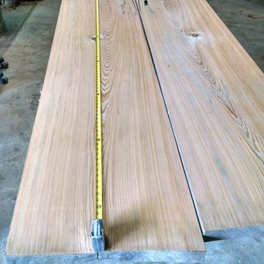 "Custom Made 40"" W Board Are 10' L Sinker Cypress From Manchac Swamps, Louisiana"