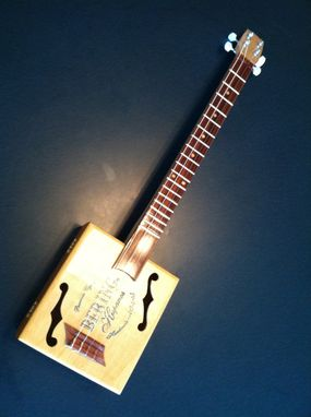 Custom Made Kim's,  Bering Hispanos Cigar Box Uke !!