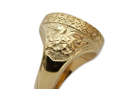 Custom Made Celtic King Nobleman Ring