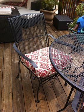 Custom Made Outdoor Furniture Cushions - Replacement Cushions