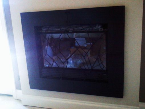 Custom Made Fire Place Surround