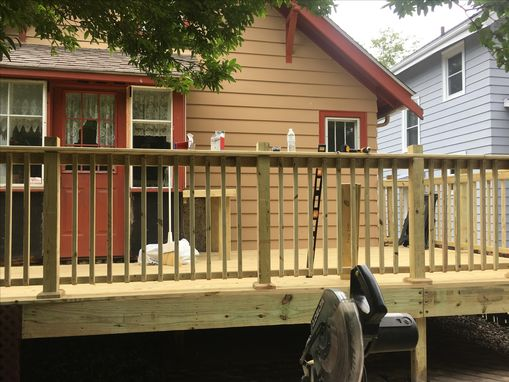 Custom Made Extension Of Existing Deck